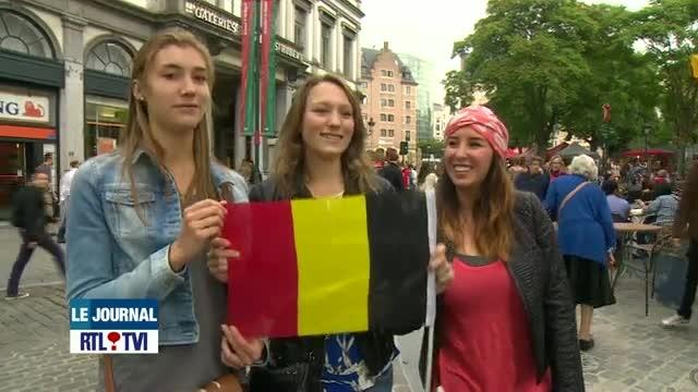 Les couleurs du drapeau de la Belgique sont à l'envers depuis 183 ans